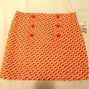 Vineyard vines orange fish skirt
